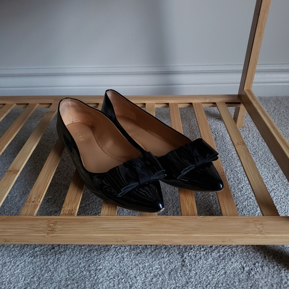 J. CREW Flat Black Shoes